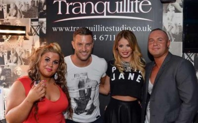 TOWIE couple add glamour to Wordsley charity event