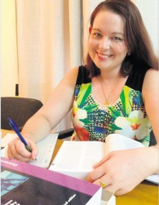 Davina's story featured in The Morning Bulletin