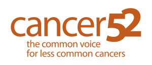 Cancer 52 logo. Pseudomyxoma Survivor is a member of this organisation