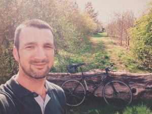 Phil is cycling in suport of Pseudomyxoma Survivor