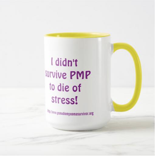 pseudomyxoma survivor mug