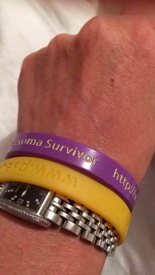 Pseudomyxoma-Survivor-wristband-B